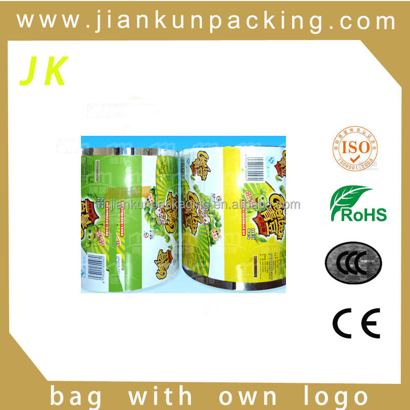 High quallity food packaging plastic bag cake roll film