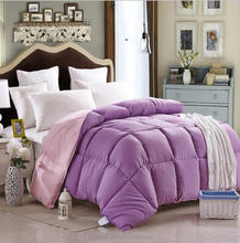 home textile manufacturer supply warm winter velvet feather double quilt