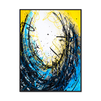 Original Canvas Painting Picture Print from Digital Art