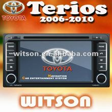 WITSON 2 din car dvd for TOYOTA TERIOS with Built-in TV tuner