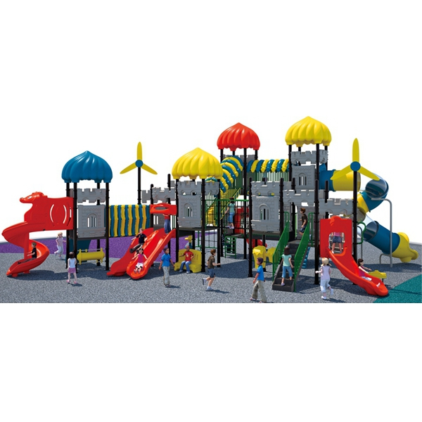 hot new children slide game outdoor playground