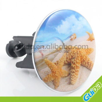 63mm big basin sink pop up waste stopper with good logo design