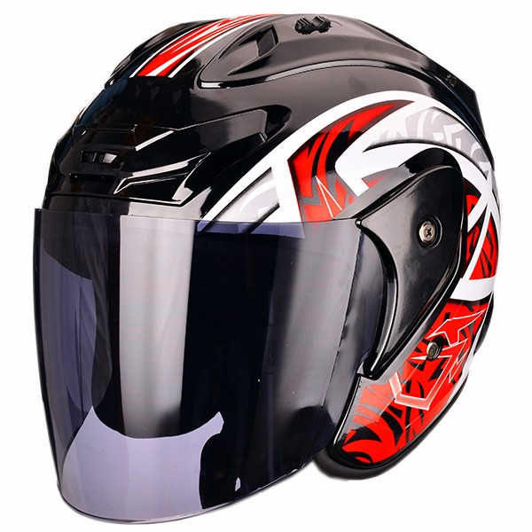 Hot sale new design open face motorcycle scooter helmet in China