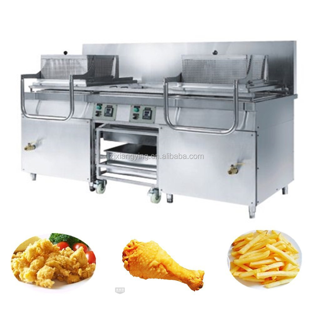 XYXZ-2(E) Industrial KFC equipment potato chips frying machine