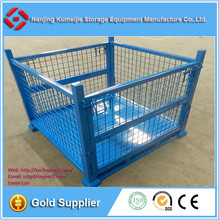 Wire Mesh Pallet Cage for Warehouse
