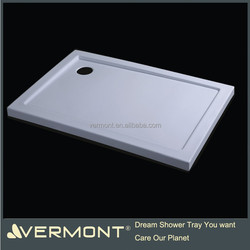 newly European designed shower tray, acrylic shower tray, fiberglass shower tray