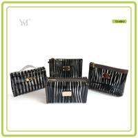new products 2017 wholesale promotional popular OEM Best Selling new style women pvc cosmetic set bag pvc cosmetic bag