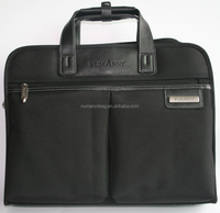 polyester material lightweight laptop briefcase bag