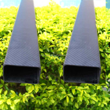 High Quality Texture Glossy Surface 6*10 Carbon Fiber Rectangular Tube Used In Moael Airplane rc plane