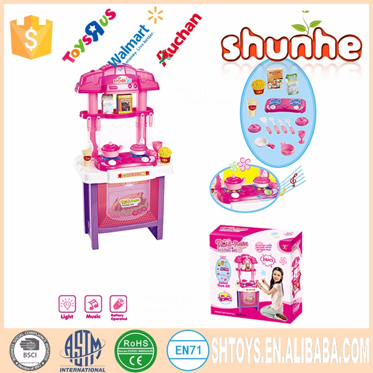 Cheap plastic outdoor toy kitchen playsets for kids buy for Cheap kids kitchen set