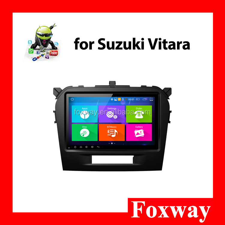 Android car radio for Suzuki Vitara with Google Play Bluetooth-Enabled wifi