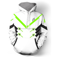 Latest Design Overwatch Anime Hoodie Sweater Coat Cosplay Costume (S,M,L,XL,XXL,XXXL)