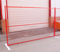 Powder coated Canada temporary movable portable fence for sale