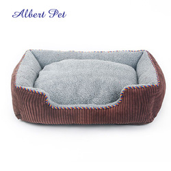 Square Pet Dog Kennel Dog Beds With Removable Cushion