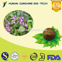 sex product medicine for long time sex horny goat weed / Epimedium Powder OEM capsule tablet CAS No.:489-32-7