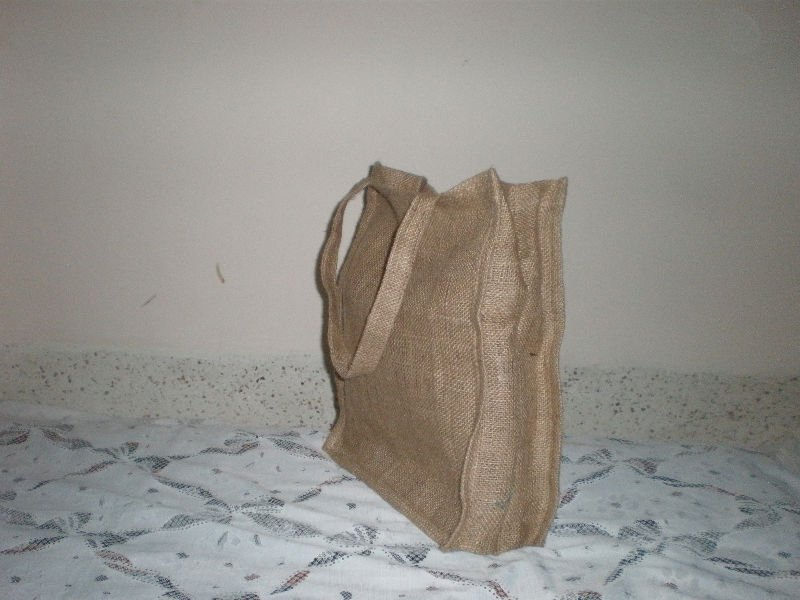 Shopping and wine bag