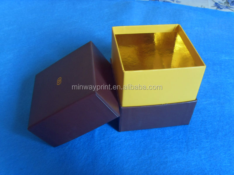 Luxury golden paper box packaging for jewellery and gift, gift box, jewellery box