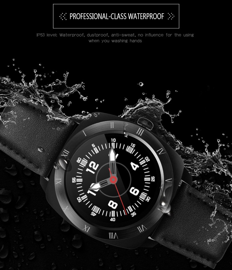 DM88 Bluetooth SmartWatch Waterproof Heart Rate Monitor For Android and IOS smart watch camera 2017