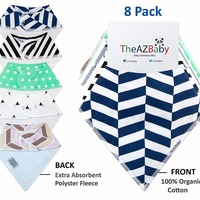 Wholesale Infant Drool Bandana Baby Bibs