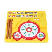 musical instrument kids funny toy plastic drum toy play set toy gift for children