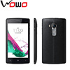Unlocked SPRD 6820 4.0WVGA 480*800 capacitive touch screen mobile phone black color cell phone Z6