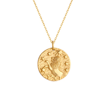 Women Jewelry 14k gold plated chain necklace gold coins