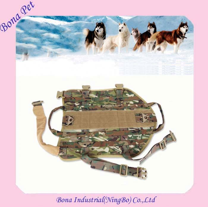 Top Quality Equipment Military Service Dog Harnesses For Large Dogs