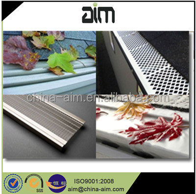 hot-selling low price aluminum perforated metal sheet gutter mesh leaf guard (ISO9001 factory)