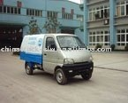 china mini changan sealed garbage truck