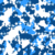 Cloth print design blue and white digital printed tight sportswear fabric