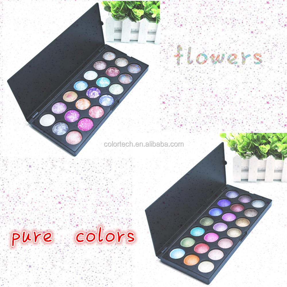 Wholesale romantic color eye shadow factory price 21 colors