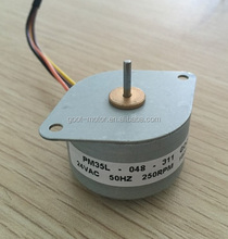 PM 24v ac motor synchronous 250 rpm synchronous motor