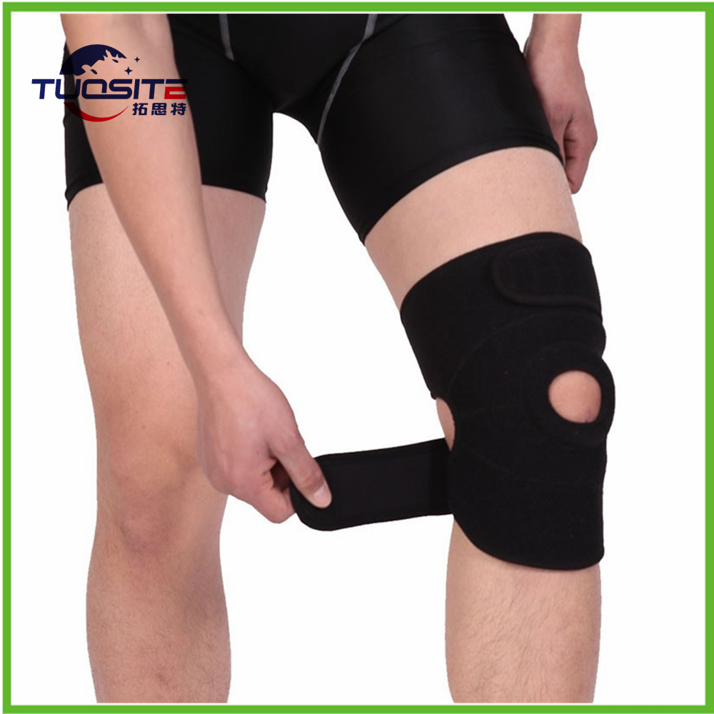 China supplier wholesale health care kneelet / high stretch two springs knee support / brace