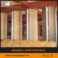 Acoustic Sliding partition wall/sliding folding wall/movable soundproof wall for exhibition center and conference room