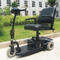 3 Wheel folding travel scooter with CE approved DL24250-1(China)