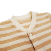 Factory Price Cute Style Autumn Long Sleeve 100% Organic Cotton Stripe Baby Unisex Romper Clothes