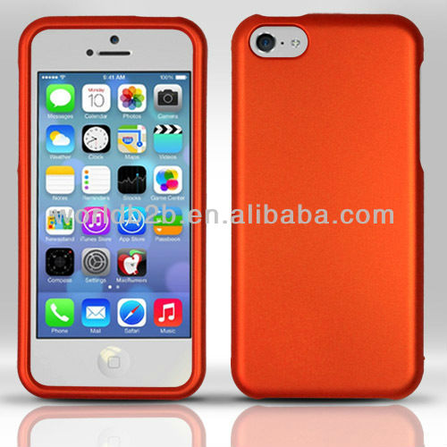 Up & Down Rubber PC Hard Case Cover For iPhone 5c mini Lite