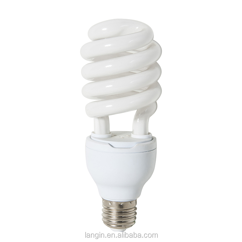 Top quality half spiral 25w energy saving lamp