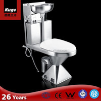 Kuge stainless steel portable composting toilet