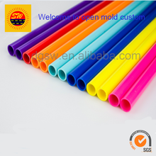 Best-selling customizable kinds of colored pvc tube