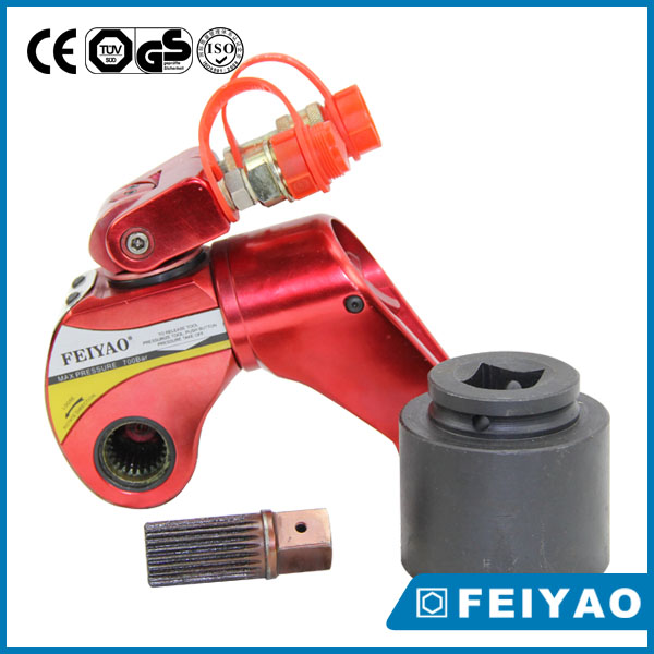 Square drive electric wheel impact wrench