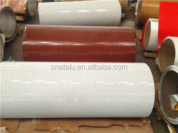aluminum coil coating painting/embossing production