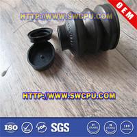Custom Molded Automotive Rubber Bellows / Car EPDM Boots Manufacturer