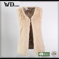 2015 High quality sleeveless wool vest coat in china market