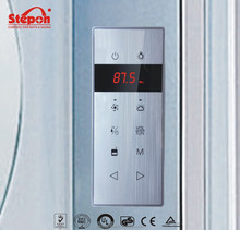Sensitive Touch Screen Steam Room Control System