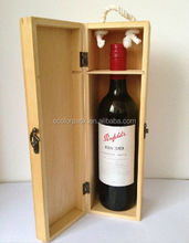 Pine Wood High Quality Gift Boxes for Wine Glasses
