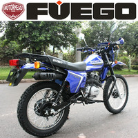 Cheap Enduro Dirt Bikes 200cc 250cc With Knobby Tires Silence Exhaust Muffler Number Plates Motorcycles