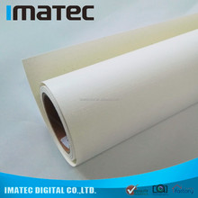 Imatec Factory Wholesale 400Gsm Resin Coated Waterproof Glossy Inkjet Cotton Canvas for Pigment Inks