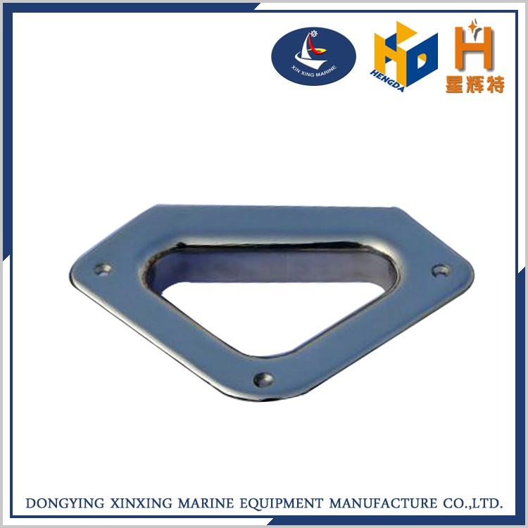 China made ss316 marine hardware oval hawse pipe with cleats wholesale
