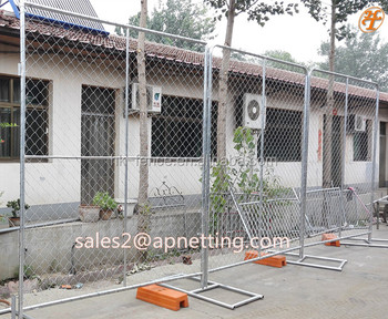 Hot dip galvanized temporary fence 2x3m Portable festival fences